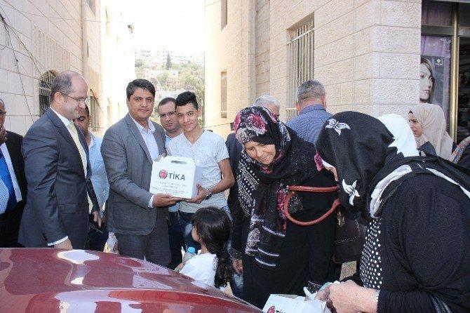 15 Temmuz şehitleri için Filistin'de kurban kesildi