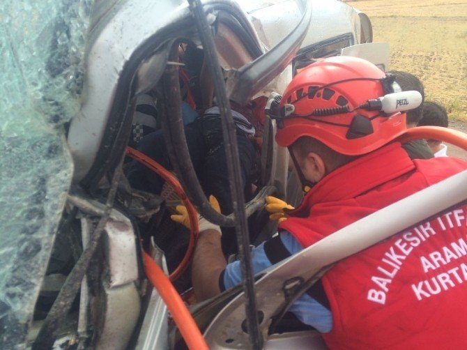 6 kişinin yaralandığı kazada can pazarı