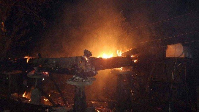 Sinop'ta yangın: 1 ölü