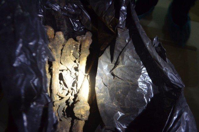Öldürülen kızlarının kemiklerini 21 yıl boyunca kolide saklamışlar