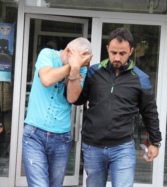 Camideki ayakkabılıkta uyuşturucu ele geçirildi