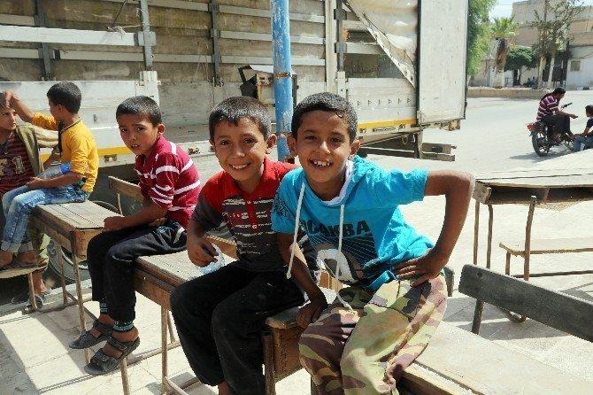 İyilikder, Cerablus'taki okulları onarıyor