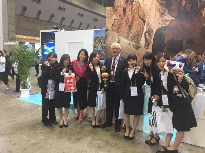 Japonya'da Kapadokya standına yoğun ilgi