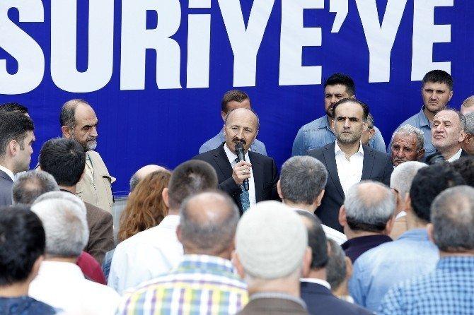 Sultangazi'den Suriye'ye Yardım