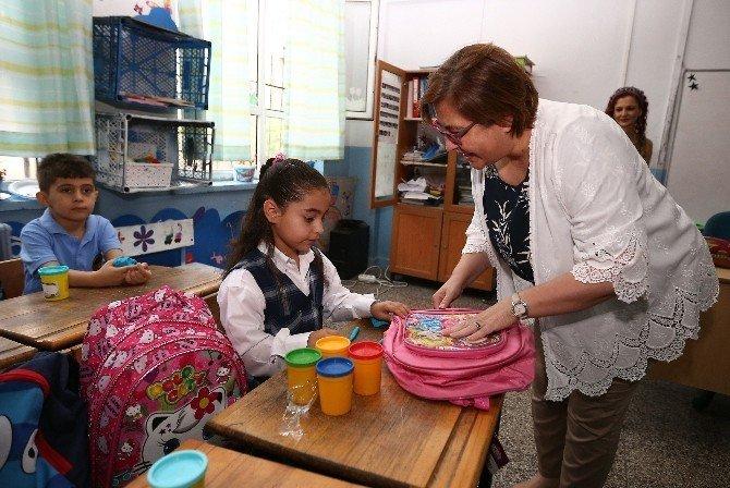 Başkan Pekdaş'ın okul ziyaretleri sürüyor