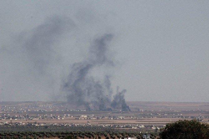 DAEŞ'in bomba yüklü aracı vuruldu