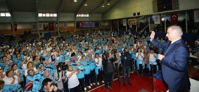 Büyükşehir'den ilçelerde ücretsiz spor kursları