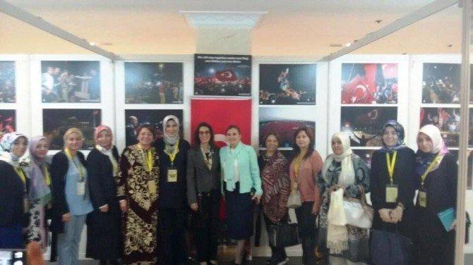 Düzce Belediyesi Müslüman kadınlar zirvesinde