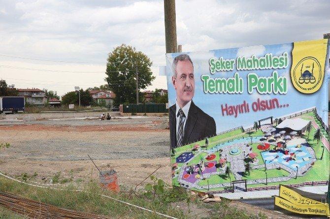 Şeker Mahalle'ye temalı park yapılıyor