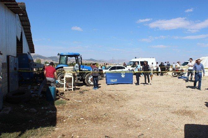 Traktör şaftına takılan çocuk hayatını kaybetti