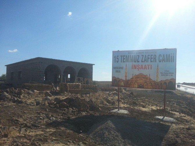 Diyarbakır'da '15 Temmuz Zafer Camisi'nin inşaatına başlandı