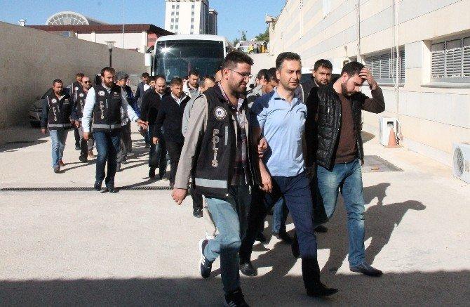 Elazığ'daki FETÖ operasyonu: 16 polis adliyeye sevk edildi