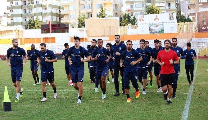 Adana Demirspor'da Şanlıurfaspor provası