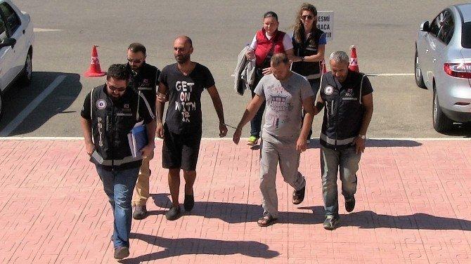 Biri hamile 3 Gürcü organizatör tutuklanarak cezaevine gönderildi