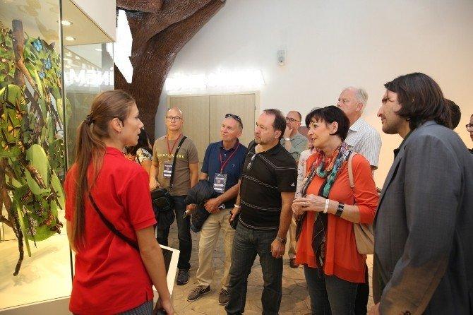Alman gazeteciler Kelebekler Vadisi'ne hayran kaldı