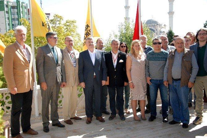 Alman gazetecilerden Büyükşehir'e ziyaret
