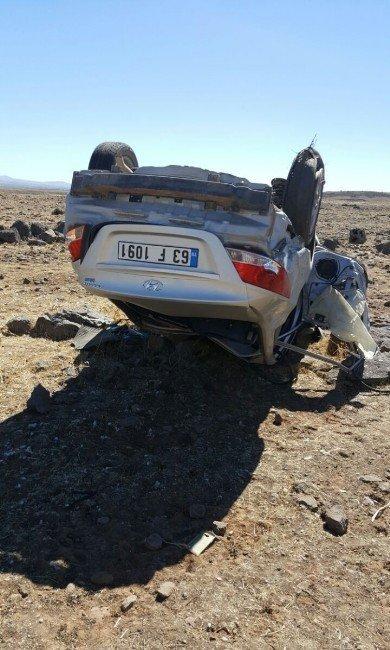Siverek'te trafik kazası: 1 ölü, 3 yaralı
