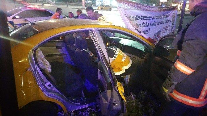 Alkollü şoför kaza yaptı: 3 yaralı