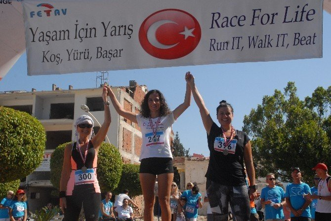 Fethiye'de yaşam için yarıştılar
