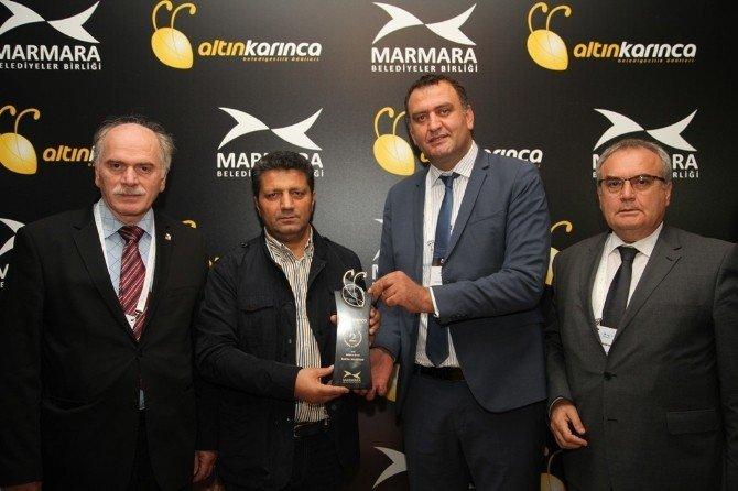 Kartal Belediyesi'ne Altın Karınca Ödülü