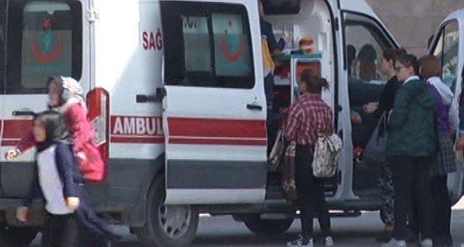 Bolu'da 19 öğrenci tuz ruhundan zehirlendi
