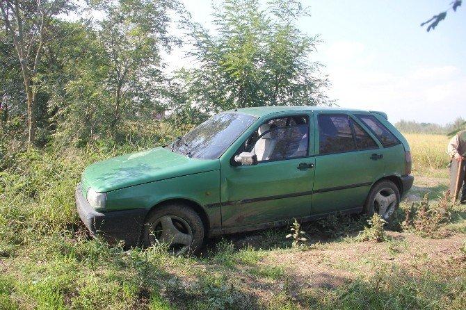 Çaldığı otomobili terk edip kayıplara karıştı