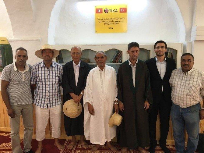 TİKA'dan Tunus'un Cerba adasındaki tarihi Türk Camisine donanım desteği