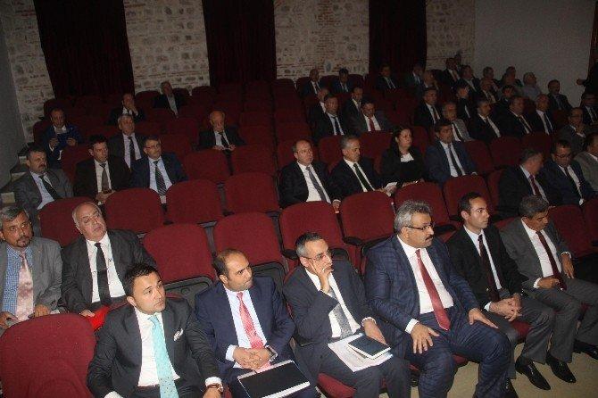 Edirne'de 549 projenin 174'ü bitti