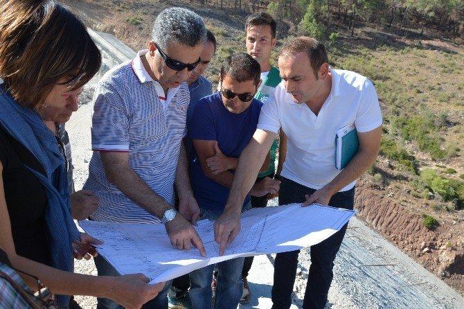 Adrasan Barajı'nda çalışmalar devam ediyor