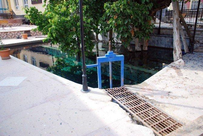 Hüyük'e 480 dekarlık damlama sulama tesisi
