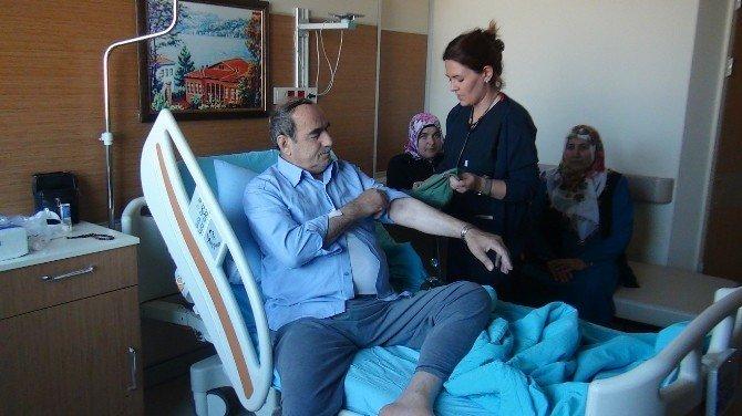 Yürümekte zorlanan hasta, takılan stentle sağlığına kavuştu