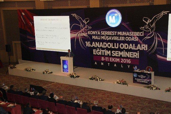 Anadolu Odaları Eğitim Semineri yapıldı