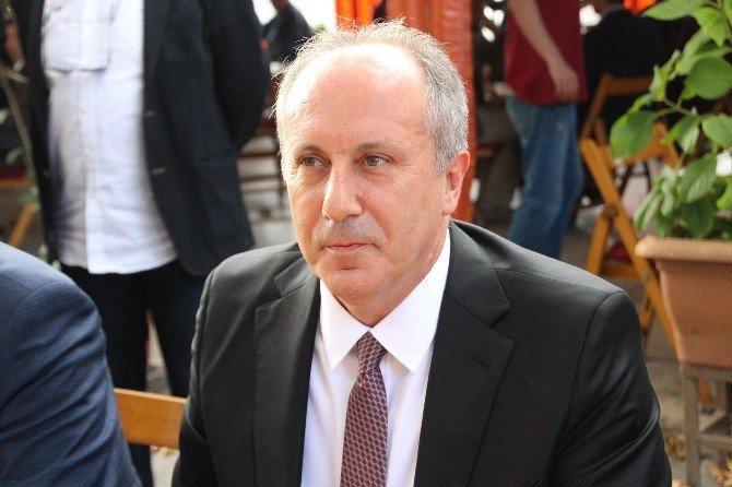 CHP'li Muharrem İnce kendisine soru soran gazeteciyi tersledi