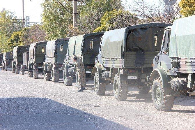 Gaziantep'e asker sevkıyatı
