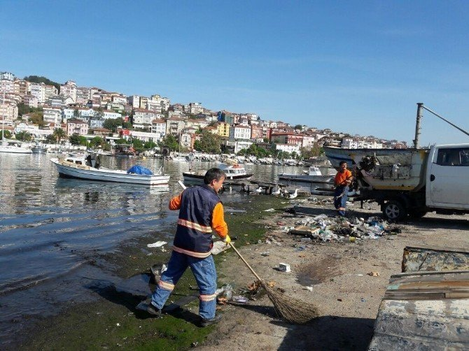 113 bin nüfuslu ilçeyi 229 personel temizliyor