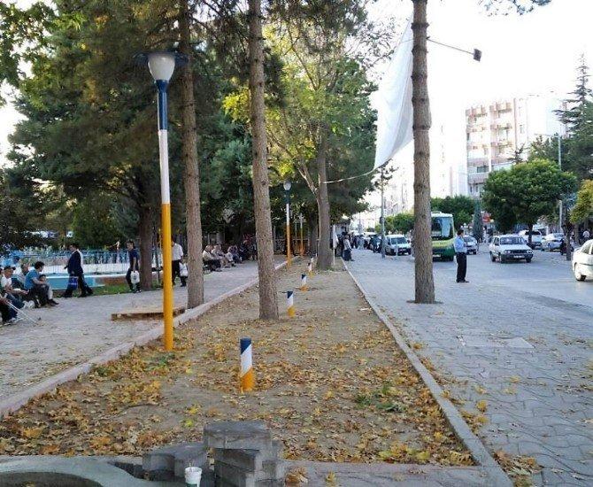 Ereğli'de Yunus Emre Parkının çehresi değişiyor