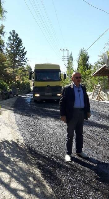 Sarıveliler Belediyesinde asfaltlama çalışmaları sürüyor