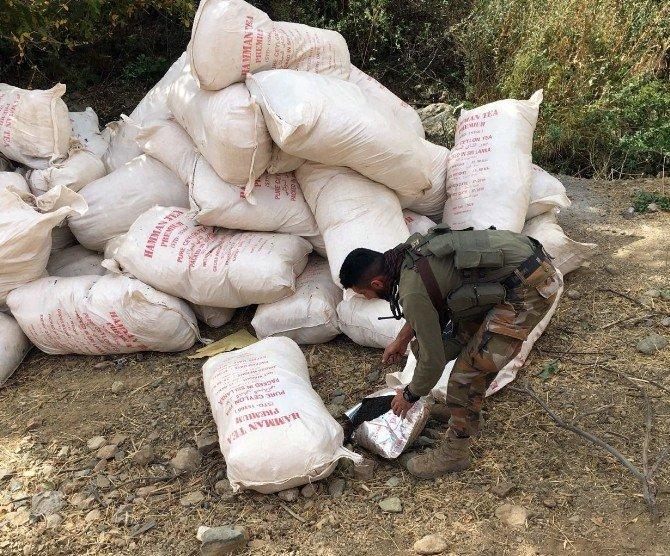 Şemdinli'de kaçak botu hattı bulundu
