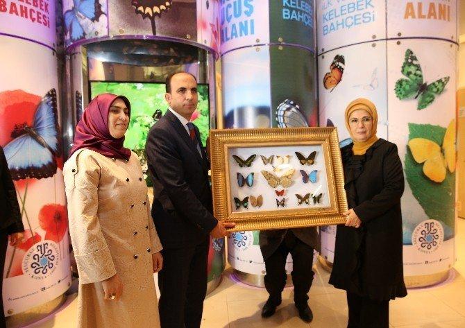Emine Erdoğan, Selçuklu Kelebek Bahçesini gezdi