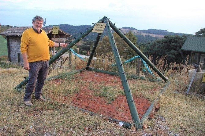 Piramitlerin sırrını Kazdağları'nda arıyor