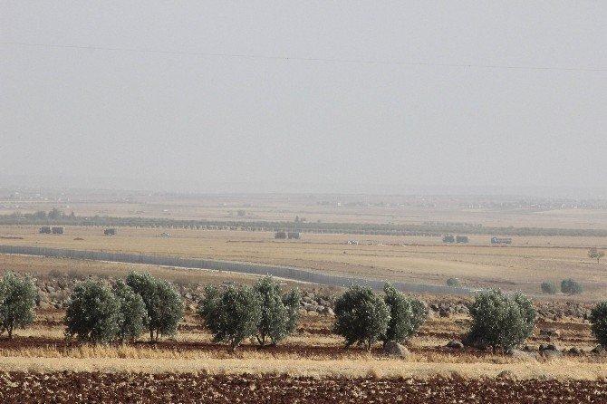 Sınırın Suriye tarafında hareketlilik sürüyor
