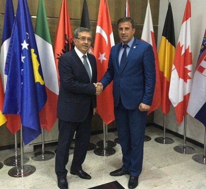 Başkan Çetin, Balkanlar'da 15 Temmuz'u anlattı
