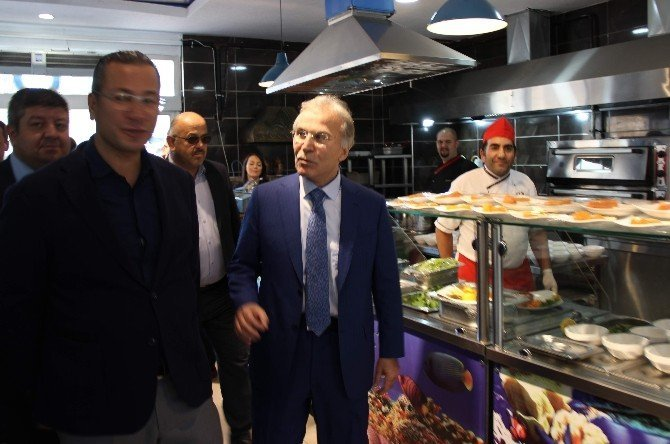 Deniz olmayan Karabük'te balık restaurantı hizmete girdi