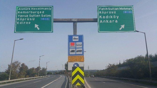 """FSM Köprüsü'nden kaçak geçişin cezası """"500 lira"""""""