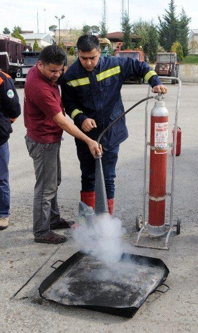 Personele yangın eğitimi