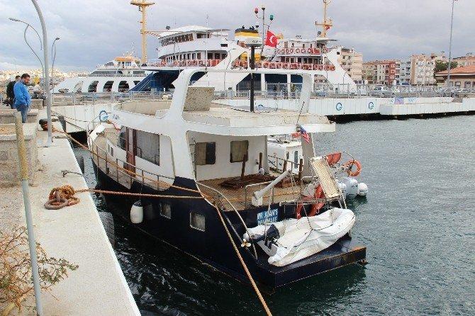Arıza yapan yatın kaptanı gözaltına alındı
