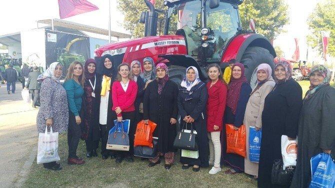 Bilecikli kadın çiftçiler tarım fuarında