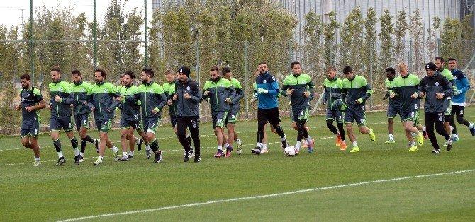Konyaspor, Braga maçı hazırlıklarına başladı