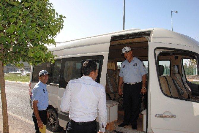 Zabıta kaçak öğrenci servisleri hakkında yasal işlem başlattı