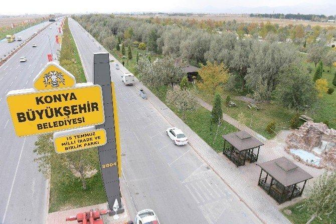 Konya'da Birlik Parkı'nın adı değişti